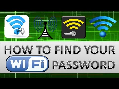 How to find Wi fi password for windows 7, Vistas & 8