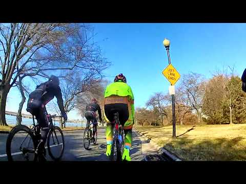 Cycling Group Ride - Fast Flat Miles for the Trainer