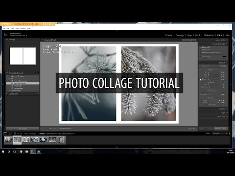 Photo Collage Tutorial in Lightroom/Photoshop