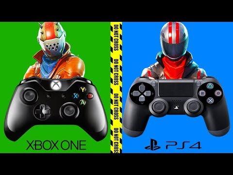XBOX ONE and PS4 will not SHARE Fortnite... (HUGE MISTAKE)