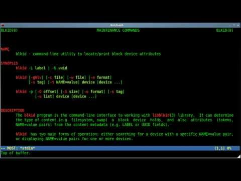 List All Partitions and Info - Linux - Shell Script - BASH