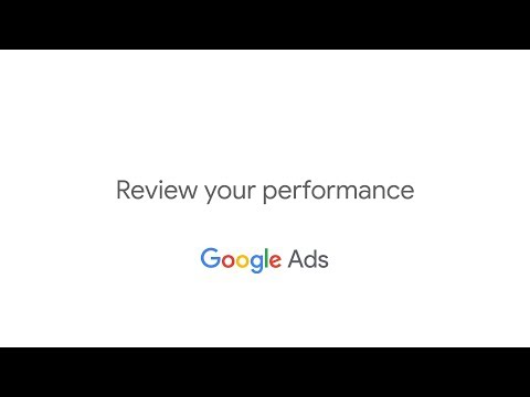 Get Started with Google AdWords: Review Your Performance