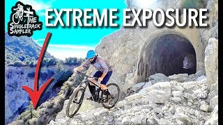 5,500 ft. of EXTREME DOWNHILL EXPOSURE // The Singletrack Sampler