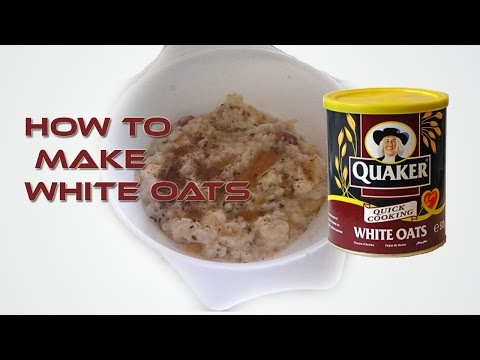 How to Make White Oats | Best Diet For Weight Loss | RECIPE #1 | Hamza Ali Shahid
