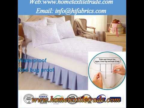 100% Waterproof & Breathable Mattress Cover