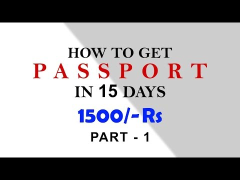 How to apply for PassPort Online (KANNADA) PART 1
