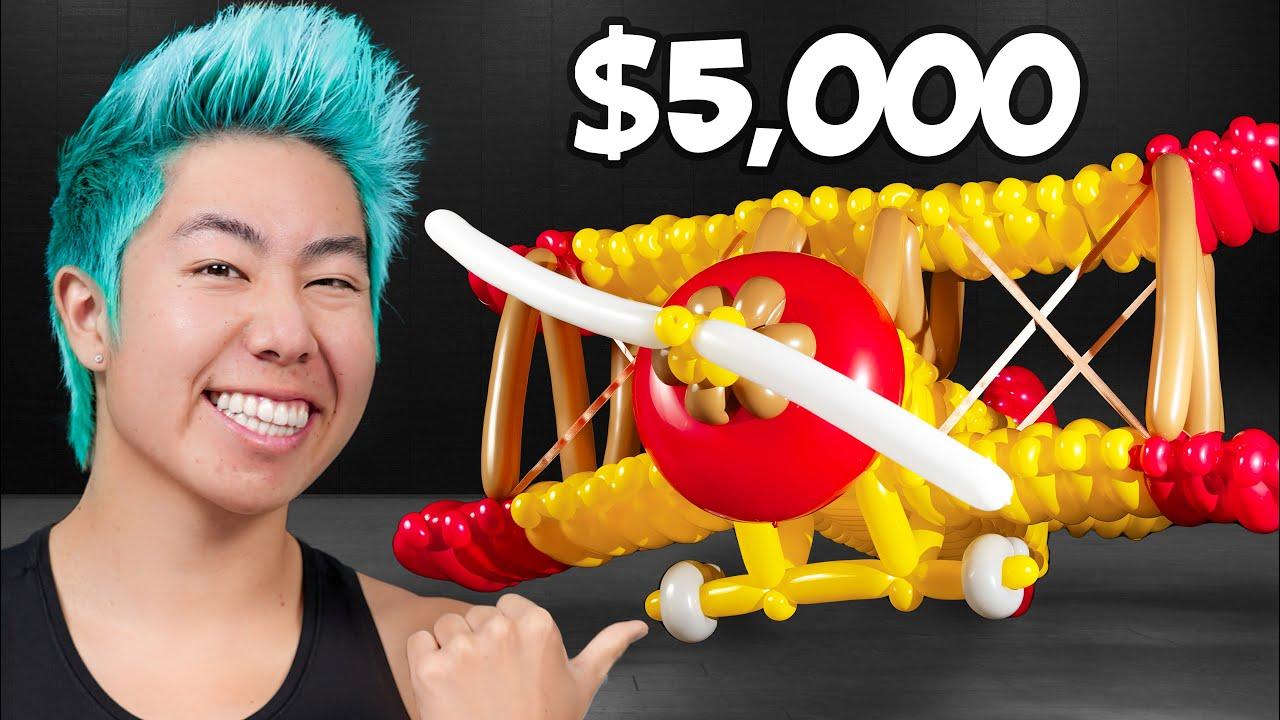 Best Balloon Art Wins $5,000 Challenge! | ZHC Crafts