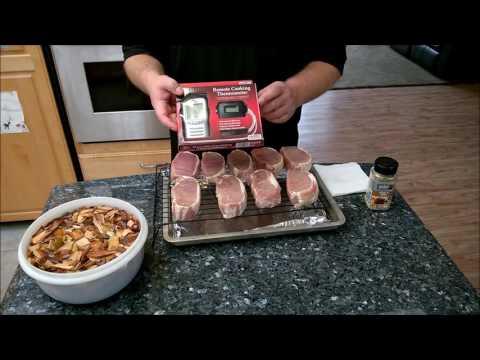 Smoked Pork Chops with the Smoke Hollow Pro Series Smoker.