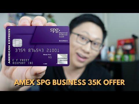 Amex SPG Business Historic High Offer (35k)