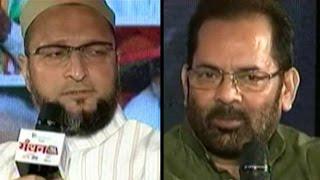 Naqvi, Owaisi On Beef Ban, Minorities At Manthan AajTak