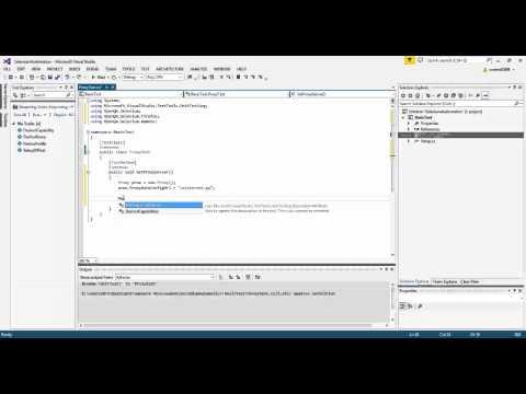Part 5 - Selenium With C# Training  (Running Selenium Script through Proxy Server in Web Driver)