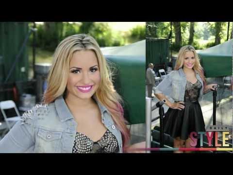 Demi Lovato GMA Performance Style! Summer Concert Series!