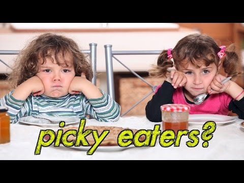 Is your child a picky eater? Food ideas for picky kids