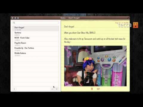 Just Show Me: How to move your Notes to iCloud and access them anywhere