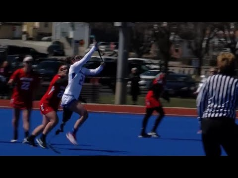 College Lacrosse Player Scores First Goal After Losing Leg