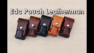 Making a EDC pouch leatherman wave