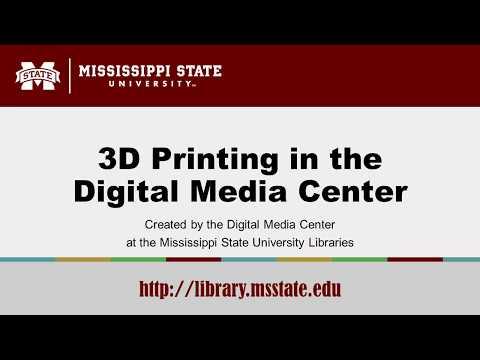 3D Printing in the Digital Media Center