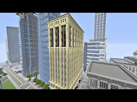 Art Deco Inspired Building (Minecraft Xbox)