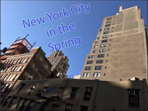 A spring trip to New York City