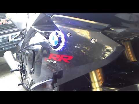 BMW S1000rr lighted badge, emblem