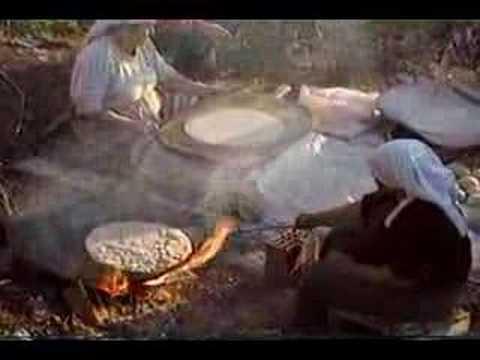 Bread-Making in Pamukkale, Turkey in 1995