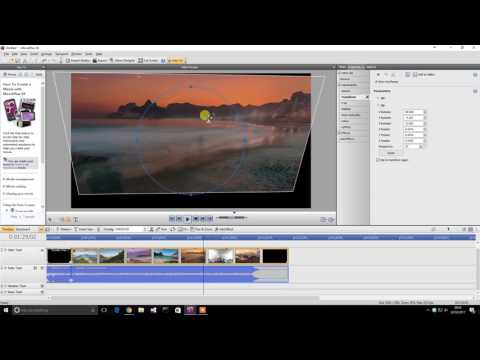 Serif MoviePlus X6 Video Editing Software 2017