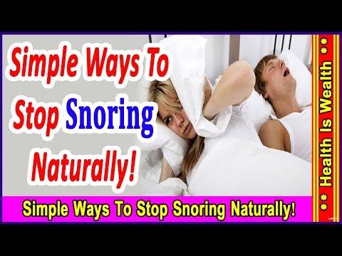 खर्राटे से मुक्ति पाने के आसान और असरकारक घरेलु उपचार  - Simple Ways To Stop Snoring Naturally