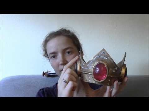 Wig & Crown Talkthrough | Princess Peach Cosplay - Part 21