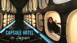 TOKYO CAPSULE HOTEL TOUR