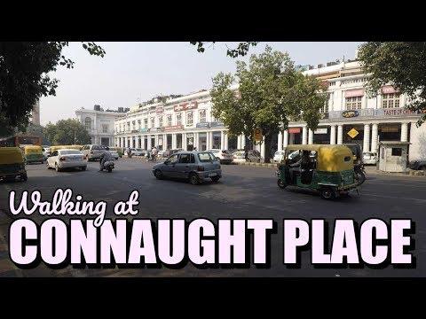 Connaught Place New Delhi | Walking POV