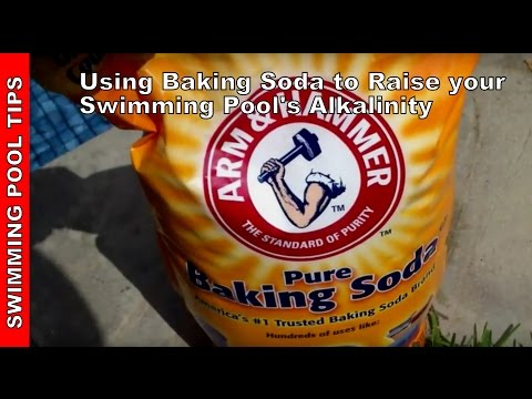 Using Baking Soda to Raise your Swimming Pool's Alkalinity