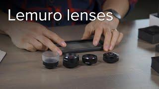 Lemuro lenses unboxing