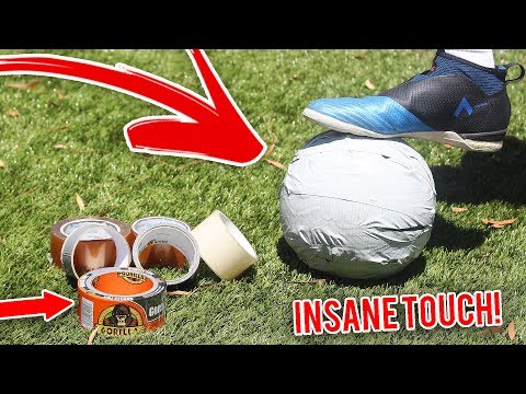 CRAZY GORILLA DUCT TAPE FOOTBALL *INSANE CONTROL/ TOUCH*