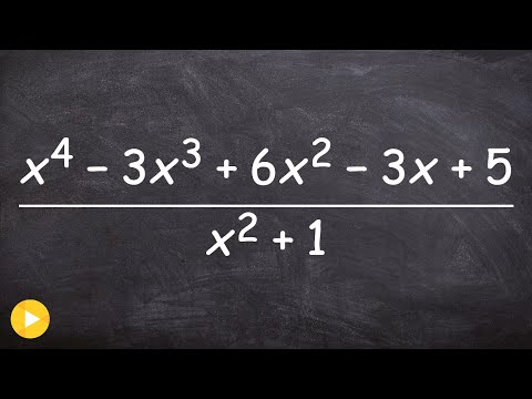 How to find the quotient between two polynomials