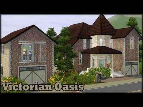 Sims 3 Build Video - Victorian Oasis
