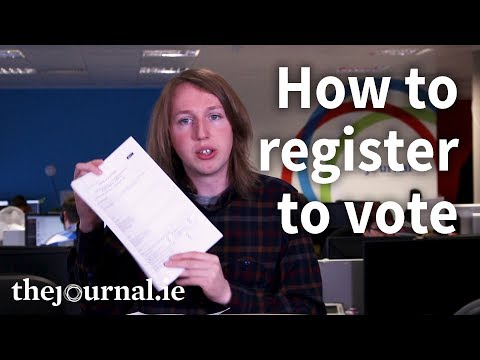 Updated: How to register to vote