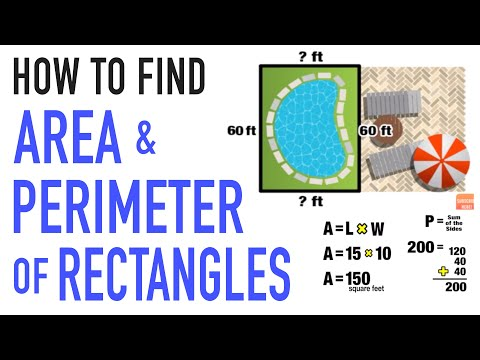☆ Find Area and Perimeter of a Rectangle in the Real World  | Common Core Math