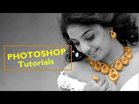 How to highlight your jewellery ...!! Jewelry Photoshop Tutorial