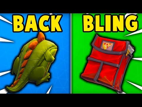 10 BEST BACK BLINGS in Fortnite! (BEST LOOKING BACK BLINGS)