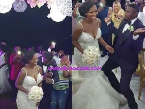 Xxx Mp4 Jackie Appiah Desmond Elliot Nadia Buari Yvonne Okoro All Stars At John Dumlo 39 S White Wedding 3gp Sex