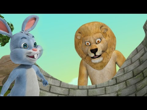 The Hare and the Lion | Stories for Kids | Infobells