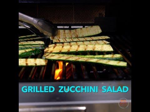 Vegetarian Grilled Zucchini & Quinoa Salad - Summer Salad at its Best!