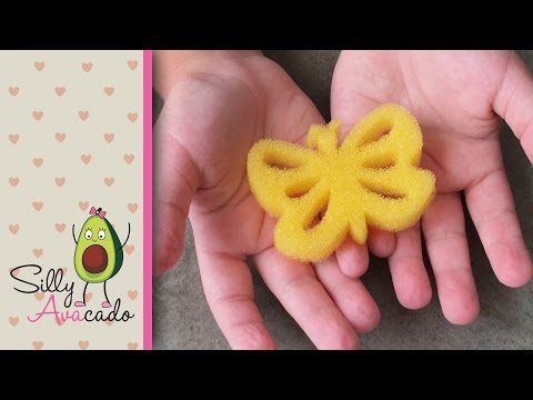 Watch Sponge Insects Grow! ❤ Learn Fun Insect Animal Facts for Kids! Magic Grow Insect Animals!