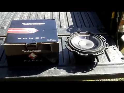Rockford Fosgate P3 build video 1