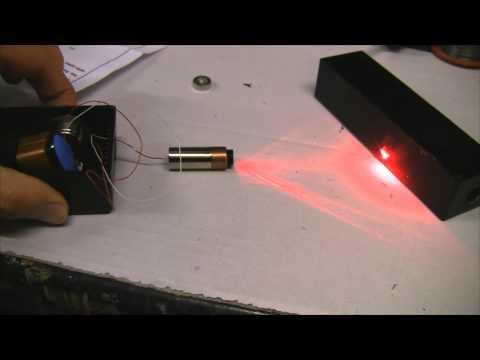 Homemade 250mW Burning Red Laser