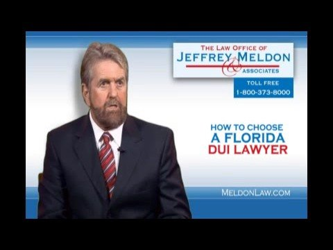 DUI Attorney Writes Book How to Choose a Florida DUI Lawyer