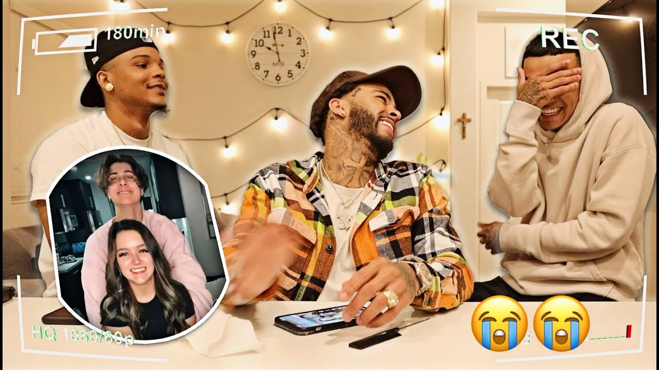 OVERPROTECTIVE Brothers React To Lil Sister's CRINGEY TIKTOK'S! 😭