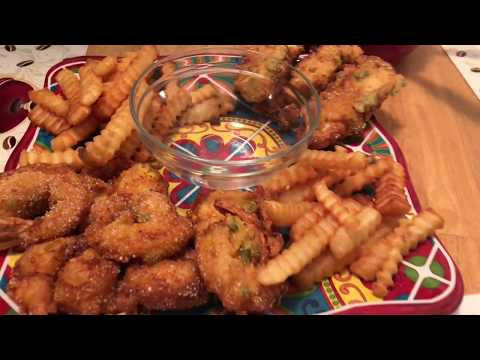 "Real Popcorn Chicken And Shrimp""Cooking General"""
