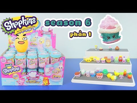Shopkins - Mở thùng Shopkins season 6, Chef Club, 30 packs (phần 01) - ToyStation 73