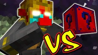 MONKING VS. LUCKY BLOCK SUPER-HERÓIS (MINECRAFT LUCKY BLOCK CHALLENGE)